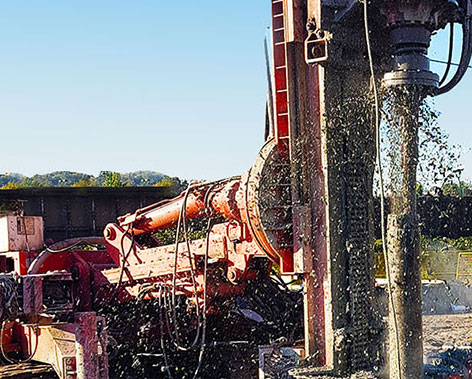 Helical Micropiles Foundation Contractors BC Canada